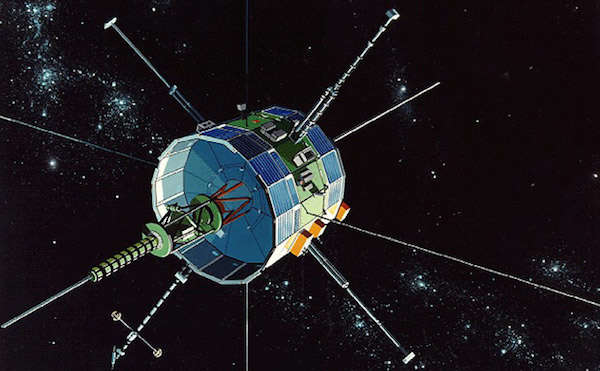 ISEE-3 in space