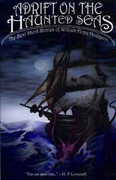 cover for Adrift on the Haunted Seas