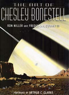 The Art of Chesley Bonestell - Copyright © 2001, Collins & Brown Ltd, Illustrations Copyright © Bonestell Space Art 2001.  Click on this picture to go to the Bonestell Space Art Web Site.