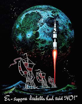 Billedresultat for frank kelly freas nasa