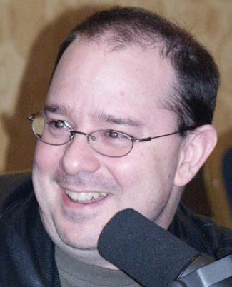 John Scalzi, picture Copyright © 2008 by Suzanne Gibson, all rights reserved.