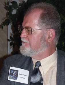 Larry Niven. Picture copyright &copy 2003 Suzanne Gibson.  All rights reserved.