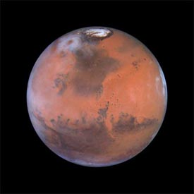 Mars - Click on this image to go to Google-Mars