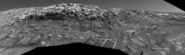 A possible way out for Opportunity. Image credit NASA/JPL.