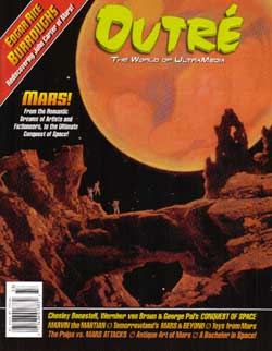 Cover for the Outre magazine, Number 33,  Copyright © 2003 by Filmfax, Inc. All rights reserved.  Click here to go to the Filmfax/Outre Web Site
