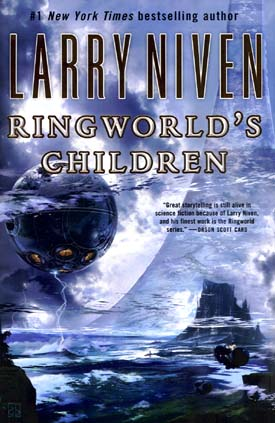 cover for Ringworld's Children.
