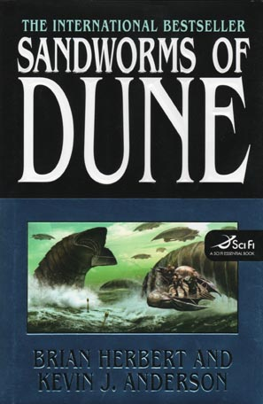 cover for Sandworms of Dune