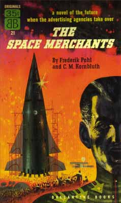Cover for The Space Merchants.