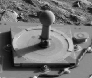 The 50,000th picture from the Mars Exploration Rovers.  Image credit NASA/JPL.