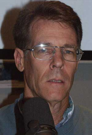 Kim Stanley Robinson at his Hour 25 Interview, picture Copyright © 2004 by Warren W. James, All Rights Reserved