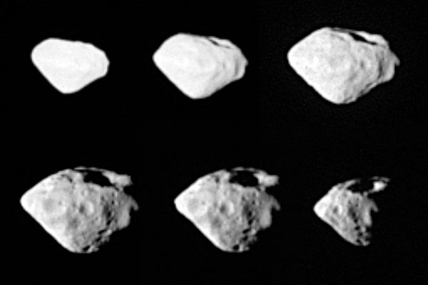Asteroid Steins - multiple images