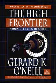 Cover for The High Frontier.